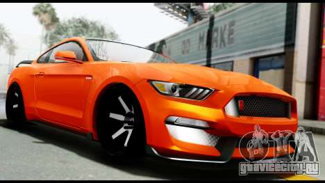 Ford Mustang Shelby GT350R 2016 для GTA San Andreas