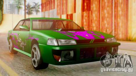 Sultan Винил из Need For Speed Underground 2 для GTA San Andreas