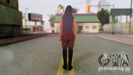 WWE Aksana для GTA San Andreas третий скриншот
