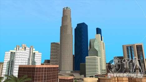 LSPD, All Saints Hospital & Skyscrapers 2016 для GTA San Andreas