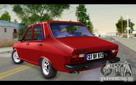 Renault 12 Toros для GTA San Andreas вид слева
