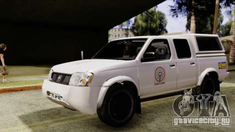 Nissan Frontier ABS CBN для GTA San Andreas