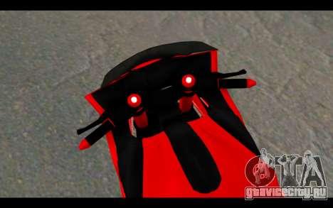 Bajidi 1R для GTA San Andreas вид сзади слева