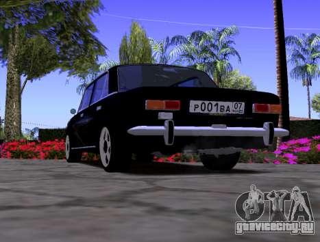 ВАЗ 2101 KBR для GTA San Andreas вид сзади слева