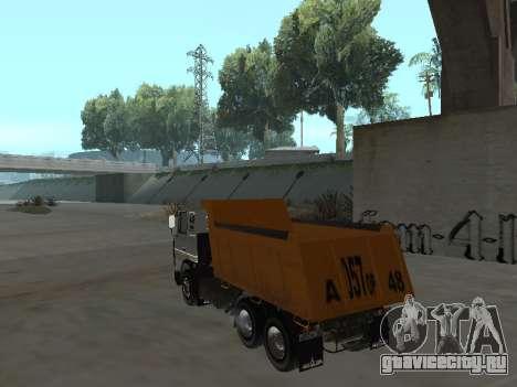 МАЗ 551605-221-024 для GTA San Andreas вид слева