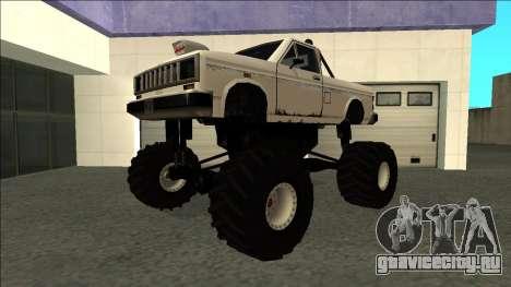 Bobcat Monster Truck для GTA San Andreas