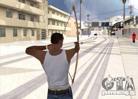 Стрельба из лука для GTA San Andreas второй скриншот