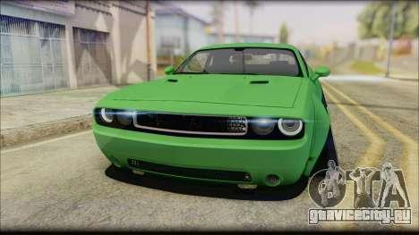 Dodge Challenger LB Perfomance для GTA San Andreas вид справа