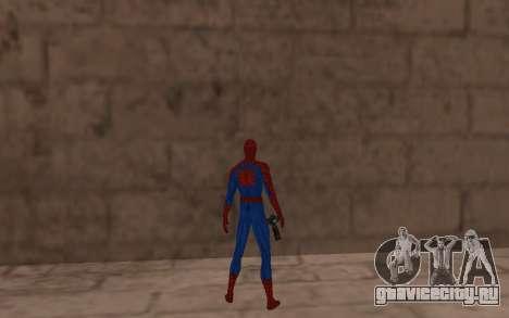 Удивительный человек-паук комикс-версия для GTA San Andreas четвёртый скриншот
