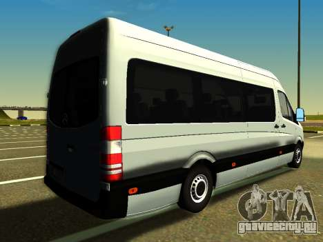 Mercedes-Benz Sprinter Long для GTA San Andreas вид слева