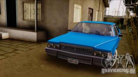 GTA 4 Albany Emperor для GTA San Andreas