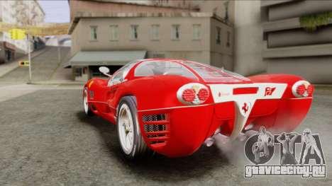 Ferrari P7 Chromo для GTA San Andreas вид слева