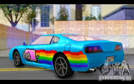 Jester PJ of Nyan Cat для GTA San Andreas вид слева