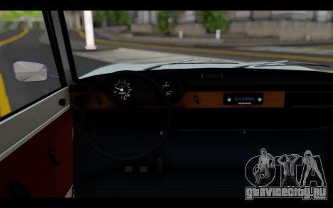Wartburg 353 для GTA San Andreas вид сзади слева