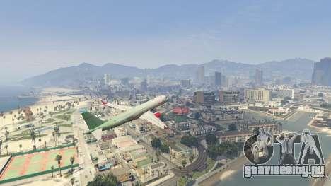 Embraer 195 Wind для GTA 5 седьмой скриншот