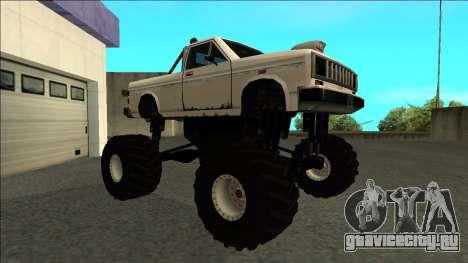 Bobcat Monster Truck для GTA San Andreas вид слева