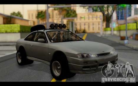 Nissan Silvia S14 Rusty Rebel для GTA San Andreas
