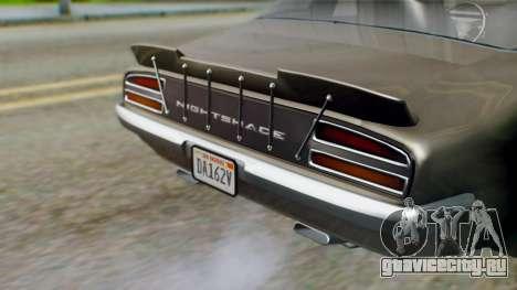 GTA 5 Imponte Nightshade IVF для GTA San Andreas вид изнутри