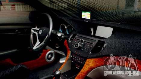 Honda Accord Yukari Itasha для GTA San Andreas вид справа