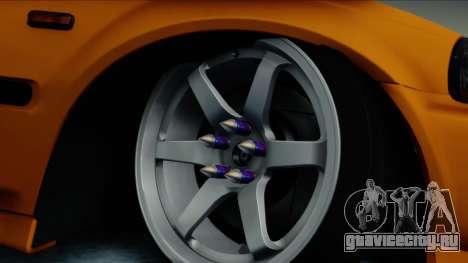 Honda Civic BC YAPIM для GTA San Andreas вид сзади слева