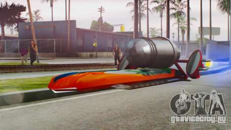Flying Hovercraft New Skin для GTA San Andreas
