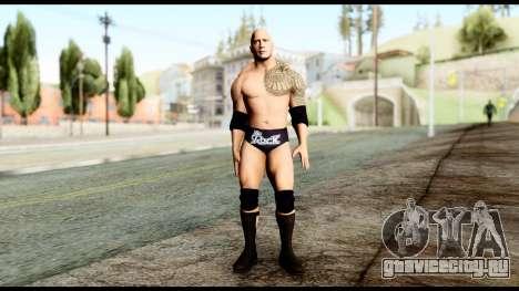 WWE The Rock для GTA San Andreas второй скриншот