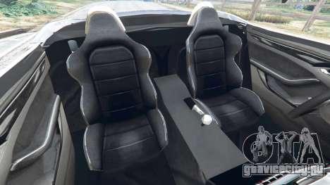 Jaguar F-Type 2014 для GTA 5 вид справа