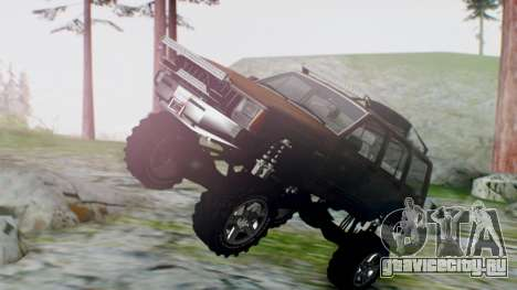 Jeep Cherokee 1984 4x4 для GTA San Andreas