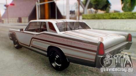 GTA 5 Vapid Chino Tunable для GTA San Andreas колёса