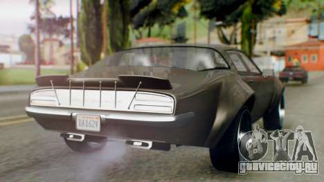 GTA 5 Imponte Nightshade IVF для GTA San Andreas вид слева