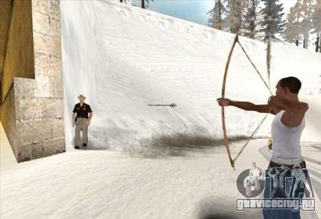 Стрельба из лука для GTA San Andreas