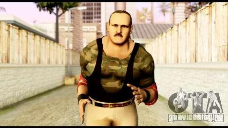 WWE Sgt Slaughter 2 для GTA San Andreas