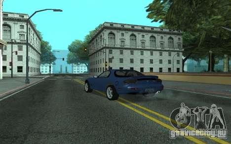 Mazda RX-7 Tunable для GTA San Andreas вид слева