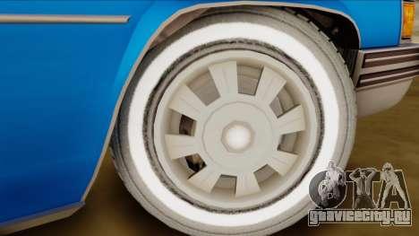 GTA 4 Albany Emperor для GTA San Andreas вид сзади слева