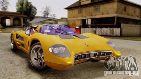 Ferrari P7 Cabrio для GTA San Andreas