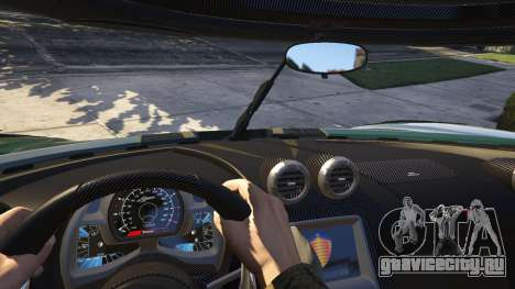 2015 Ferrari LaFerrari v1.3 для GTA 5 вид сзади справа