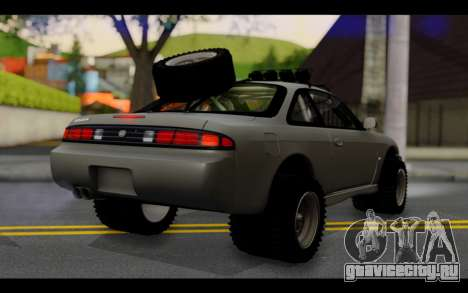 Nissan Silvia S14 Rusty Rebel для GTA San Andreas вид слева