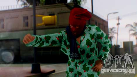 GTA Online Festive Surprise Skin 4 для GTA San Andreas