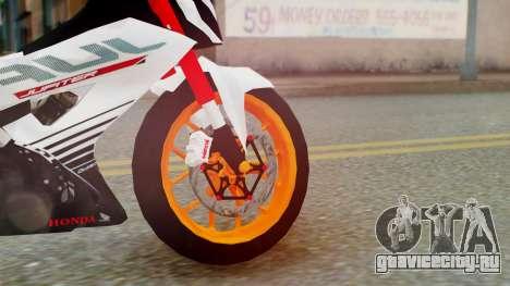 Honda Sonic 150R KingLivery для GTA San Andreas вид сзади слева