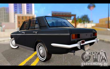 Peykan 1347 Classic для GTA San Andreas вид слева