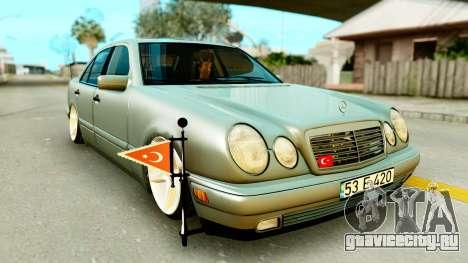 Mercedes-Benz E420 для GTA San Andreas
