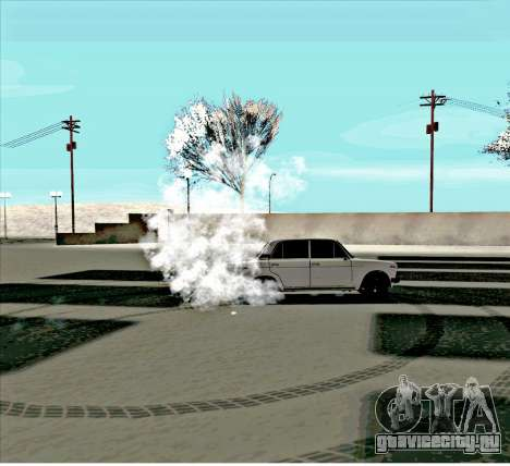 Ваз 2106 [ARM] для GTA San Andreas вид сбоку