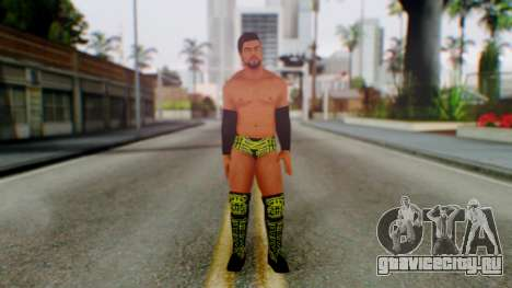 Justin Gabriel для GTA San Andreas второй скриншот
