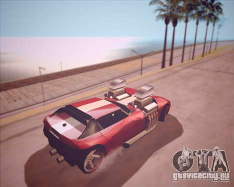 Banshee Twin Mill III Hot Wheels v1.0 для GTA San Andreas вид справа