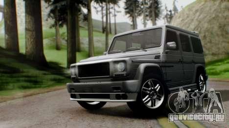 Brabus B55 для GTA San Andreas