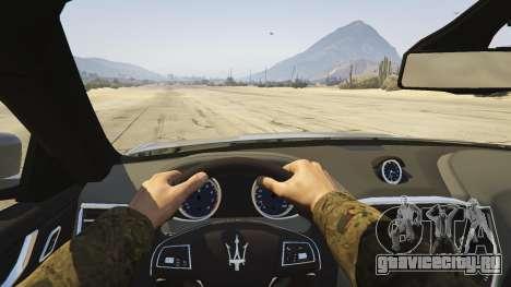 Maserati Ghibli S для GTA 5 вид сзади справа