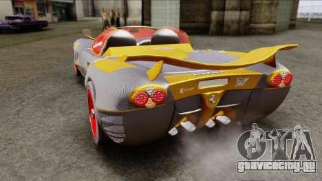 Ferrari P7 Carbon для GTA San Andreas вид сзади слева