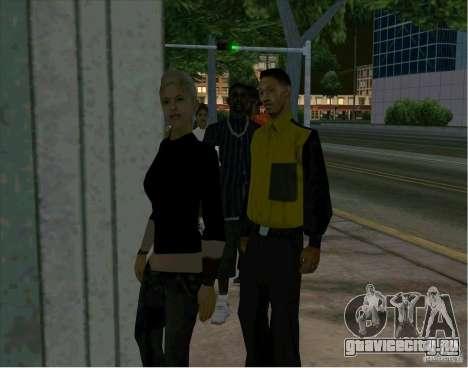 Очередь около кинотеатра для GTA San Andreas третий скриншот