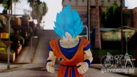 Goku SSJ God Blue (SSGSS) для GTA San Andreas