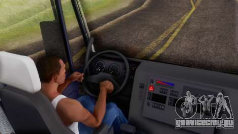 Iveco EuroTech v2.0 Cab Low для GTA San Andreas вид сзади